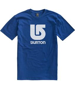 Burton Logo Vertical T-Shirt Royal