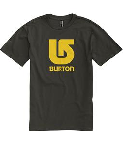 Burton Logo Vertical T-Shirt Trench Green