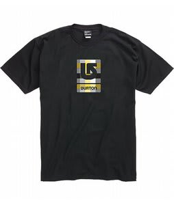Burton Logo Fill T-Shirt True Black