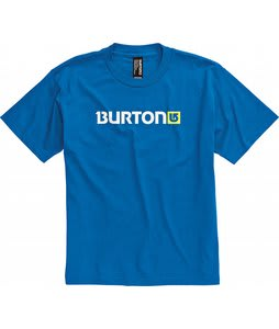 Burton Logo Horizontal T-Shirt Royal