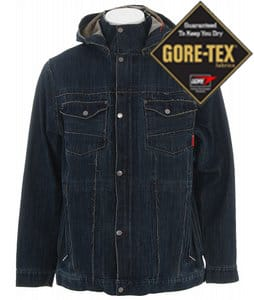 Burton LTD Grail Denim Snowboard Jacket Denim
