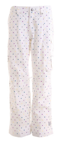 Burton Lucky Snowboard Pant Multi Polka Squares