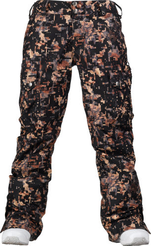 Burton Lucky Snowboard Pants Digi Floral True Black