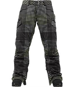 Burton Lucky Snowboard Pants True Black Cheeky Plaid