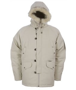 Burton Ludlow Nylon Down Parka Fossil