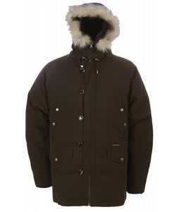 Burton Ludlow Nylon Down Parka Mocha 