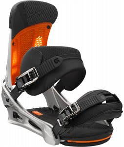 Burton Malavita Snowboard Bindings Silversmith