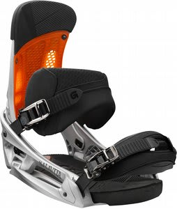 Burton Malavita EST Snowboard Bindings Silversmith