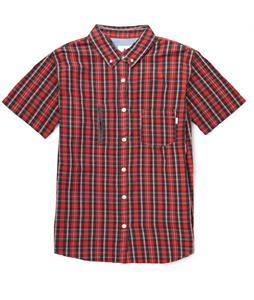 Burton Manchester Shirt Cardinal Tartan