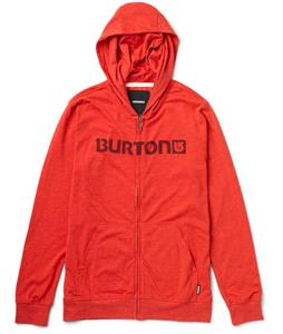 Burton Maxwell Full-Zip Hoodie Heather Cardinal