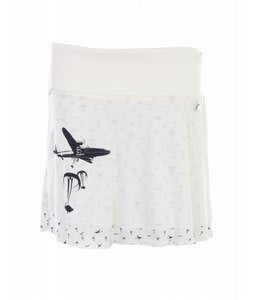 Burton May Day Mini Skirt Bright White