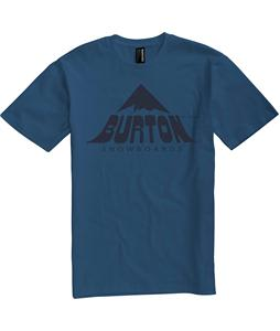 Burton Mckinley Slim Fit T-Shirt Team Blue