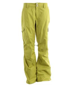 Burton Mesa Cargo Snowboard Pants Grass Stain