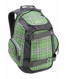Burton Metalhead Pack Irish Green Flannel Plaid