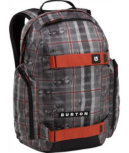 Burton Metalhead Backpack Tattered Plaid