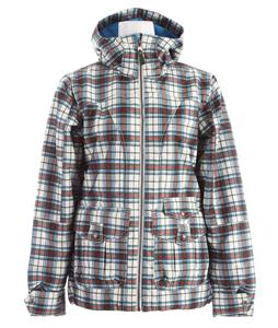 Burton Method Snowboard Jacket Canvas Gypsy Plaid Print