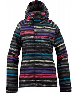 Burton Method Snowboard Jacket True Black Palette Stripe