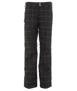 Burton Mighty Snowboard Pants True Black Plaid