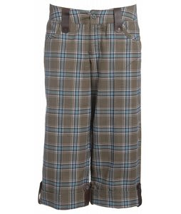 Burton Midterm Capris Martini Plaid 