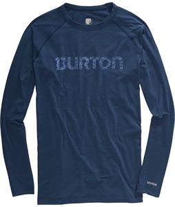 Burton Midweight Crew Baselayer Top Team Blue