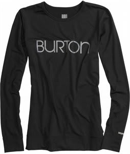 Burton Midweight Crew Baselayer Top True Black