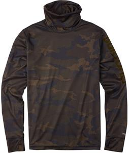 Burton Midweight Long Neck Baselayer Top Lowland Camo