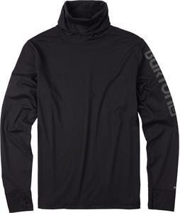 Burton Midweight Long Neck Baselayer Top True Black