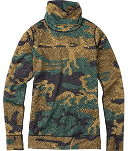 Burton Midweight Long Neck Baselayer Top Floral Camo