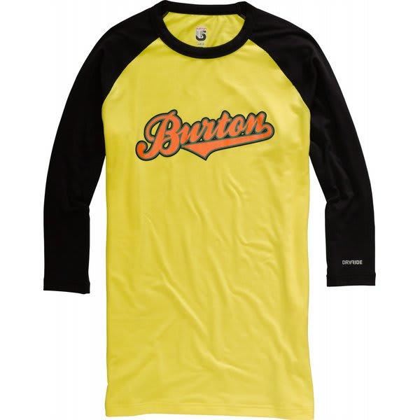 Burton Midweight 3/4 Baseball First Layer Shirt