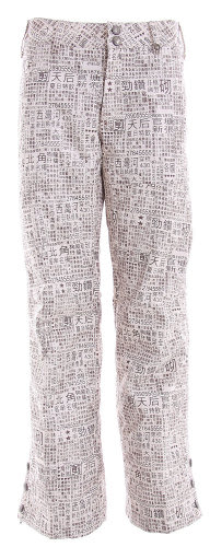 Burton Mighty Snowboard Pant Chestnut Paper Print