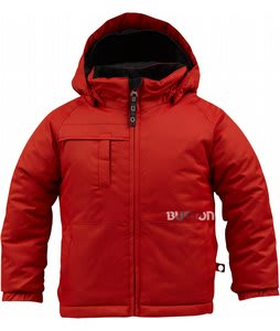 Burton Minishred Amped Snowboard Jacket Burn