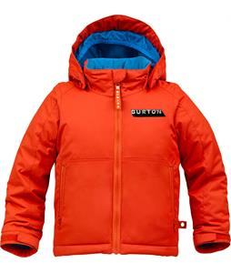 Burton Minishred Amped Snowboard Jacket Burner