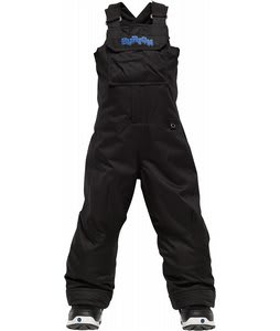 Burton Minishred Cyclops Bib Snowboard Pants True Black