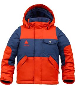 Burton Minishred Fray Snowboard Jacket Burner/Atlantic