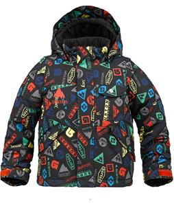 Burton Minishred Fray Snowboard Jacket Iconic Print