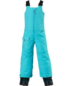 Burton Minishred Maven Bib Snowboard Pants Sulley Blue 4T