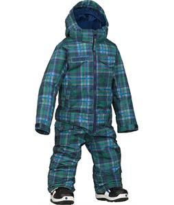 Burton Minishred Striker One Piece Mascot Mason Plaid