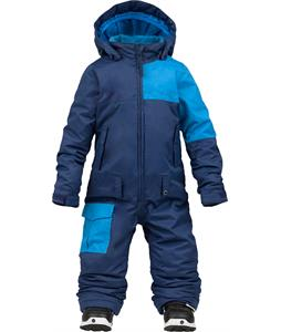 Burton Minishred Striker Onepiece Atlantic/Blue-Ray