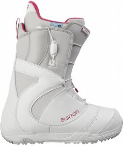 Burton Mint Snowboard Boots White/Gray/Pink