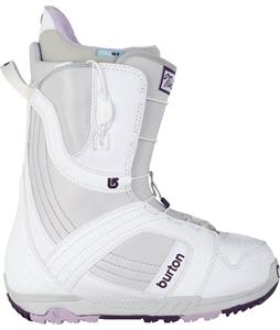 Burton Mint Snowboard Boots White/Gray/Purple