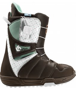 Burton Mint Snowboard Boots Brown/White/Mint