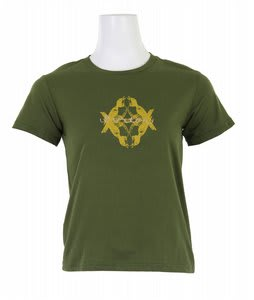 Burton Mirro Feb T-Shirt Olive - Mirror according to photo