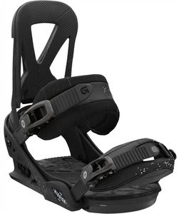 Burton Mission Snowboard Bindings Black Lung