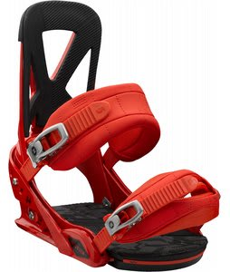Burton Mission Snowboard Bindings International Red