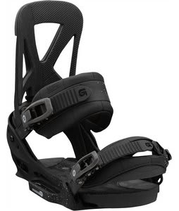 Burton Mission EST Snowboard Bindings Black Lung