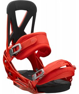 Burton Mission EST Snowboard Bindings International Red