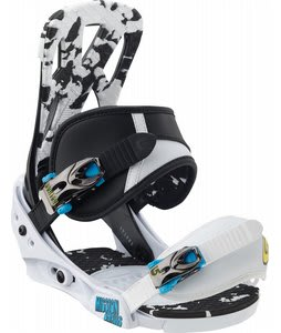 Burton Mission Smalls Snowboard Bindings Black/White