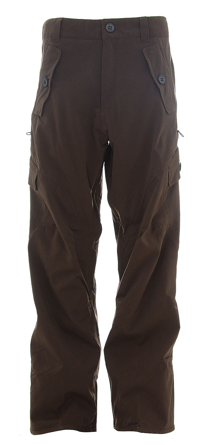 Shop for Burton Mark 13 Ranger Snowboard Pants Roasted Brown - Men's