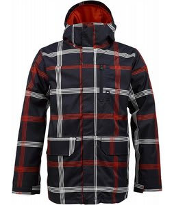 Burton Mob System Snowboard Jacket Ballpoint Prospect Plaid