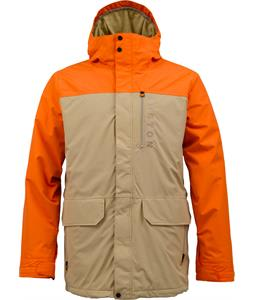 Burton Mob System Snowboard Jacket Clockwork Burlap
